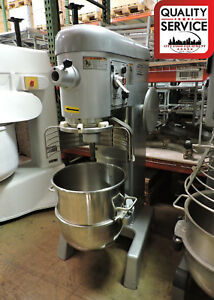 Hobart D340 Commercial 40 Quart Dough Mixer W 40 Qt Bowl 3 Phase 208v