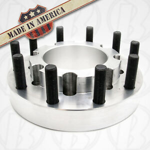 10 Lug 10x8 75 To 10x285 Older Chevy Gm To Semi Wheel Adapters 1 75 Rear