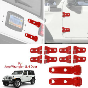 Door Hinge Covers Tailgate Hinge Covers Exterior Parts For Jeep Wrangler Jl