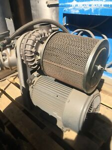 Paxton Centrifugal Type Blower rm 87 d 10 Hp speed 17000 ontario Calif