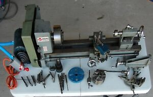 6 Atlas Clausing 3950 Metal Lathe Refurbished W Milling Attachment And Tooling