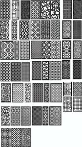 Dxf Of Laser Plasma Router Cut cnc Vector Dxf cdr Ai Art File 130 Item