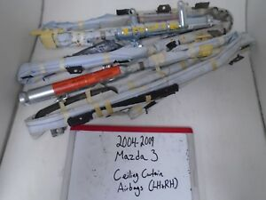 2004 2009 Mazda 3 Ceiling Curtain Airbags Left And Right Pair