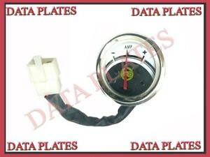 5x Royal Enfield Classic 350cc Amp Ampere Meter Gauge With Wire 592173 c