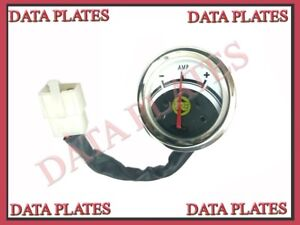 10x Royal Enfield Classic 350cc Amp Ampere Meter Gauge With Wire 592173 c