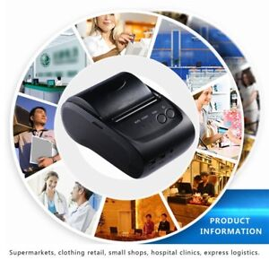 58mm Bluetooth Wireless Receipt Pos Thermal Printer Professional Low Noise Ma