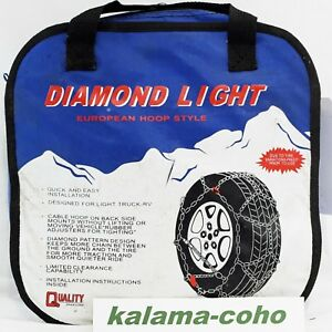 Diamond Light 2317lw Tire Snow Chains 225 70r17 5 255 60r16 235 60r17 235 55r18