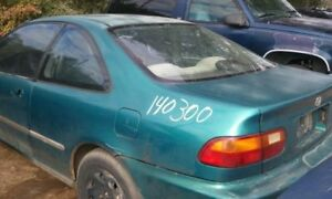 Engine Coupe 1 6l Vin 1 6th Digit Si Canada Market Fits 92 95 Civic 82501