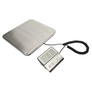Weigh Digital Shipping Postal Scale Heavy Duty Steel 440lbs Portable Scale
