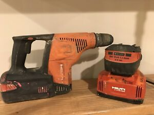 Hilti Te 7 a Cordless Rotary Hammer Drill With 2 batteries And Charger No Case