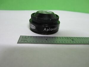 Microscope Part Olympus Japan Condenser Lens Optics As Is Bin s1 l 07