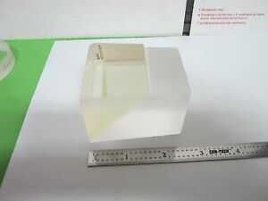 Optical Prism Dual Glass Type chipped Edge Mil Spec Laser Optics Bin a5 b 17