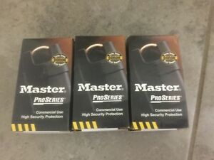 3 Master Pro series High Security Pad key Lock 6321ka new