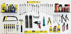 Wallpeg Pro Kit Pegboard Shelves Bins Peg Hooks Tool Storage