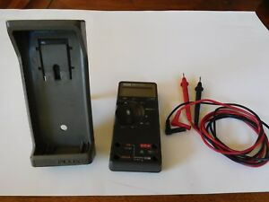 Fluke Digtial Multimeter 77 With Leads Protective Case