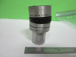Microscope Part Eyepiece Bausch Lomb Mono Stereo 53 7 34 Optics As Is Bin s8 21