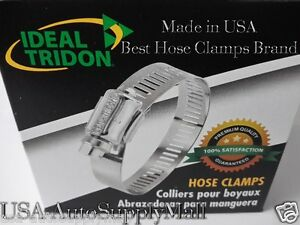 100 Pcs Ideal Hose Clamps Size 24 1 To 2 25 51mm Made In Usa