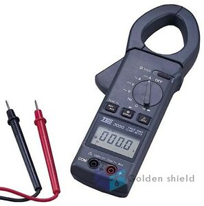 Tes 3050 Trms Ac dc Clamp Meter Peak Hold Measurement