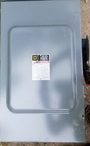 Square D D324n Al 40 Heavy Duty Safety Switch New In Box