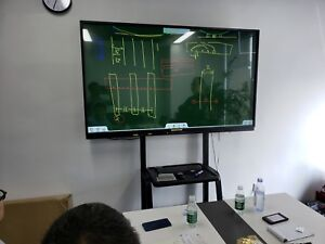 Cloud Education Solution 70 Inch Interactive Display 70 Inch Note Board
