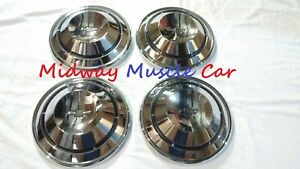 New 68 69 70 Chevy Chevelle Camaro El Camino Nova Poverty Dog Dish Wheel Hub Cap