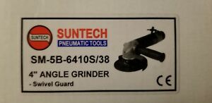 Suntech 1 1 Hp Heavy Industrial Pneumatic Air 4 Angle Grinder 3 8 24