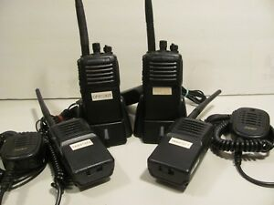 4 Vertex Standard Vx 351 adob 5 Vhf Matching Freq 16ch Two way Radio Works