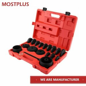 23pcs Fwd Front Wheel Drive Bearing Adapters Puller Install Removal Tool Kit