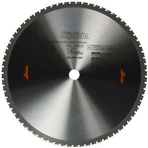 Circular Saw Blades Porter cable 14103 14 inch 72 Tooth Metal Cutting 1 inch
