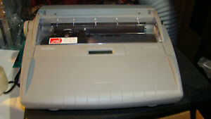 Brother Sx 4000 Electronic Lcd Typewriter Dictionary Auto Correct Word Spell