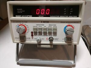 Sencore Lc101 Capacitor Inductor Analyzer Z Meter