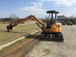 2007 Case Cx50b 2700 Hours Mini Excavator