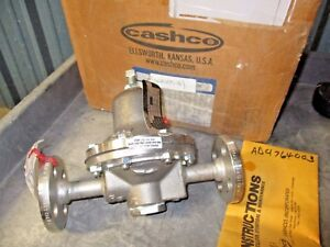 Cashco 1 2 Stainless Pressure Reducing Regulator 275 Psig 620100g New In Box