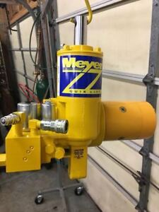 Meyer Snow Plow E47 E60 E 60 Hydraulic Plow Pump Rebuilt Sand Blasted Painted