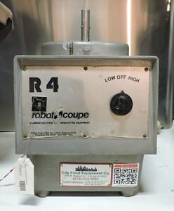 Robot Coupe R4 Commercial Food Processor base Only