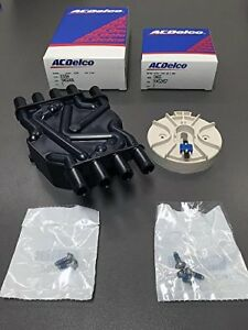 Acdelco Gm Distributor Cap D329a And Rotor D465 Kit Vortec 8