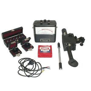 Micro 95 Optical Pyrometer Kit W 6x Lenses 2x Filters Cable Carrying Case