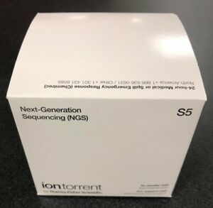 Ion Torrent Sequencing Chip S5 540 4 pack Surplus Lab Equipment Unopened New
