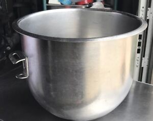 Hobart Stainless Steal Hobart 12 Qt Bowl For A 20qt Mixer A200