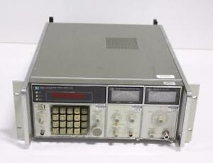 Hp 8660c Synthesized Signal Generator W Option 005 86633b And 86603a Rf
