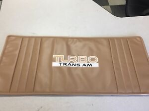 1989 Pontiac Turbo Trans Am Cargo Trophy Mat In Beachwood Color