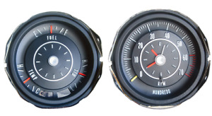 Ralley Pack tic Toc Tach Gauge Set For 1968 1969 Cutlass 442 Models