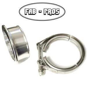 Holset Hx35 Hx35w Hx40w Turbo Compressor V band Flange Clamp Also Cummins 5 9l