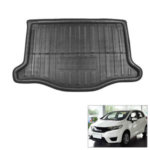 Automobile Rear Trunk Boot Liner Cargo Mat Floor Pad For 2016 2018 Honda Fit