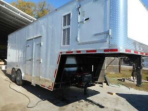 Refrigerated Meat Rail Gooseneck Style Freezer Or Cooler Trailer New 2018