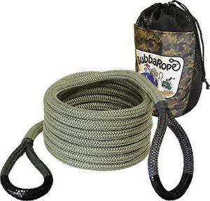 Bubba Rope Renegade Tow Rope 3 4 In Od 20 Ft Long 19 000 Lb Cap P N 176655bkg