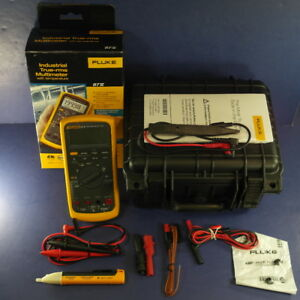 New Fluke 87v Trms Multimeter Ob Hard Case Accessories