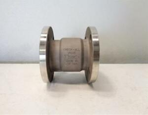 Check all 2 Flanged Check Valve Stainless Steel Hvkss