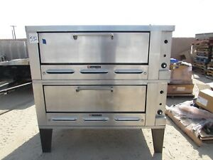 Garland Double Brick Pizza Oven Excellent Condition