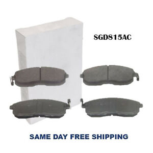 New Ceramic Front Brake Pad For Nissan 350z Altima Maxima Sentra